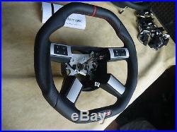 06-11 custom Dodge Charger steering wheel Flat bottom square top HEMI srt8 RT