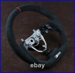 06-13 IS Lexus custom steering wheel is250 is300 220 flat bottom thick Alcantara