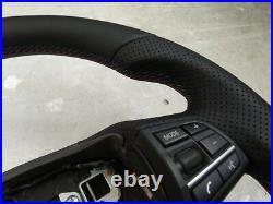 09-16 BMW 5 F07 F10 7 F01 M SPORT NEW NAPPA LEATHER ERGONOMIC INLAYS flat bottom