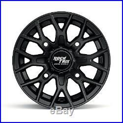 12 RockTrix RT104 ATV UTV Wheels Rims 12x7 4x156 4/156 4+3 offset