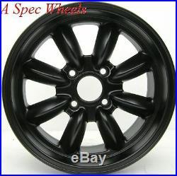 15x7 Rota Rb Wheels 4x100 Rim Flat Black Bmw 2002 E21