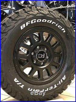 16 Alloy Wheels Bfg All Terrains Mercedes Sprinter Vw Crafter 6x130 Matt Black