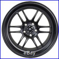 16x7 MST Suzuka 4x100/4x114.3 +25 Matte Black Wheels (Set of 4)