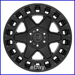 17 Black Rhino York Matte Black Alloy Wheels Renegade R/t Tyres For Ford Ranger