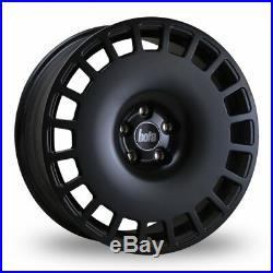 17 Bola B12 Alloy Wheels 4x100 Fits Mini Vauxhall Hyundai Suzuki Matt Black