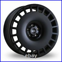 17 Bola B12 Alloy Wheels Fit Ford Fiesta Focus Fusion Escourt 4x108 Matt Black