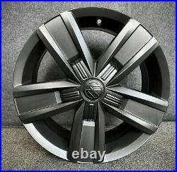 17 Davenport Alloy Wheels Vw T5 T6 Matt Black Swamper 4x4 All Terrain