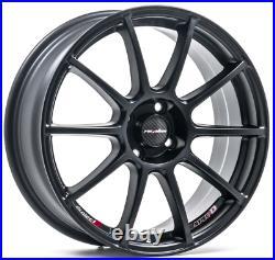 17 Lenso Spec B Alloy Wheels 4x108 Matt Black fits Ford Fiesta inc ST Ecoboost