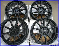 17 Matte Neo Alloy Wheels Fits 4x100 Bmw Mini R50 R52 R55 R56 R57 R58 R59