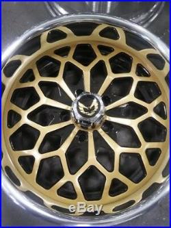 17 Pro Wheels Snowflake Gold Year Forged Billet Aluminum Rims Custom One