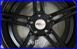 18-19 Matte Black TSW Cray Brickyard Wheels Chevrolet Corvette C6 C7 Stingray