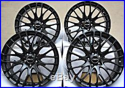 18 Alloy Wheels 5x112 18 Inch Alloys Cruize 170 MB Full Matt Black Concave