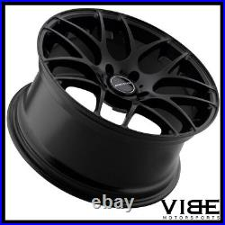 18 Avant Garde M310 Black Concave Wheels Rims Fits Scion Frs