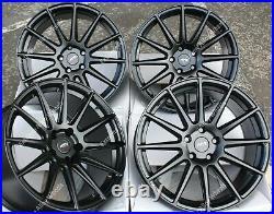 18 B Ayr 02 Alloy Wheels Fits Volkswagen Vw T5 T6 R line Sportline Gti Gtd Wr