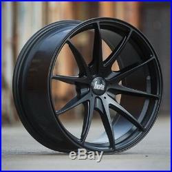 18 Bola B9 Alloy Wheels To Fit Audi A3 A4 A6 Vw Seat 5x112 8j Matt Black