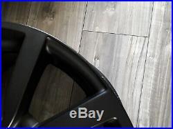 18 Inch Alloy Wheels Matt Satin Black Alloys Vw Golf Scirocco Caddy Audi A3 Q3