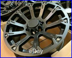 18 Lkw Blade Black Alloy Wheels Fit Ford Ranger Mitsubishi L200 Wide Fitment