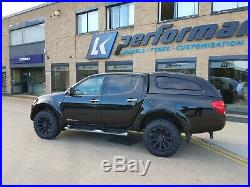 18 Lkw Blade Matte Black Alloy Wheels & Tyres Fits Ford Ranger 20092019