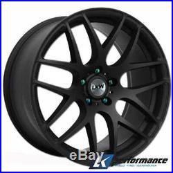 18 Lkw Lk0.4 Black Alloy Wheels Fits Bmw 3 Series E90 E91 E92 E93 F30 F31