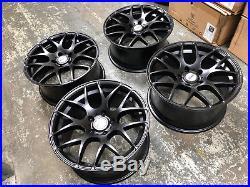 18 Lkw Lk0.4 Black Alloy Wheels Fits Bmw 3 Series E90 E91 E92 Transporter T5