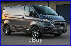 18 Matt Black Alloy Wheels Tyres Ford Transit Custom 2015 5x160 ST 2554518 103