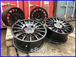 18 Transit Rs St Style Alloy Wheel Matt Black Ford Transit Custom Van High Load