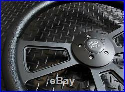 18 inch Black Steering Wheel Big Rig (Freightliner, Kenworth, Peterbilt, Volvo)