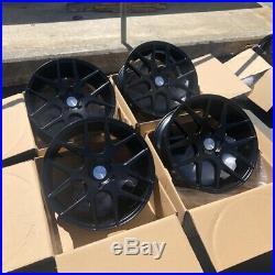 18x8.5 +35 Avid. 1 AV30 5x114.3 Black Rims Wheels (Set of 4)