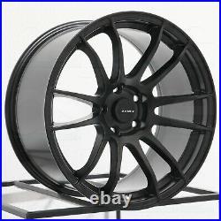 18x9.5 Matte Black Wheels AVID1 AV20 5x114.3 38 (Set of 4) 73.1