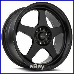 18x9 Matte Black Wheels Vors SP1 5x100/5x114.3 35 (Set of 4) 73.1