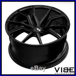 19 20 Xo Verona Black Concave Wheels Rims Fits Chevrolet C7 Z06 Z07 Corvette