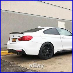 19 AVANT GARDE M410 MATTE BLACK CONCAVE WHEELS RIMS FITS BMW F32 428i 435i