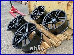 19 Aluwerks Gts Alloy Wheels Black Fits Bmw 1series 2 Series 3 Series 4 Series
