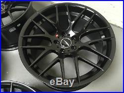 19 Avant Garde M359 Alloy Wheels Fit Bmw 3 Series E90 E91 E92 F30 Matt Black