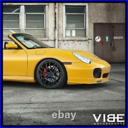 19 Avant Garde Ruger Mesh Black Concave Wheels Rims Fits Porsche 996 Carrera