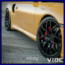 19 Avant Garde Ruger Mesh Black Concave Wheels Rims Fits Porsche Boxster 986
