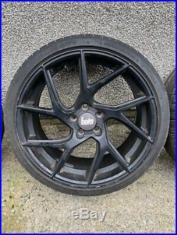 19 Bola Fla Alloy Wheels To Fit Audi A3 A4 A6 Vw Seat 5x112 8.5j Matt Black