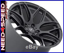 19 MRR GF9 Matte Black 19x8.5 Concave Wheels For Audi B8 A4 S4
