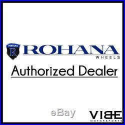 19 Rohana Rc10 Black Concave Wheels Rims Fits Nissan 350z 370z