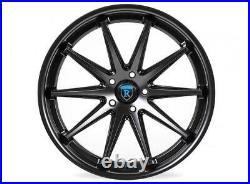 19 Rohana Rc10 Matte Black Concave Wheels For Mercedes W204 W205 C250 C300 C350