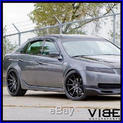 19 Rohana Rc10 Matte Black Concave Wheels Rims Fits Acura Tl