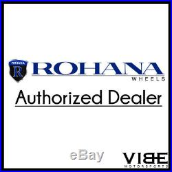 19 Rohana Rfx5 Black Forged Concave Wheels Rims Fits Nissan Maxima