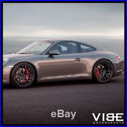 19 Ruger Mesh Forged Black Concave Wheels Rims Fits Porsche 997 911 Carrera S