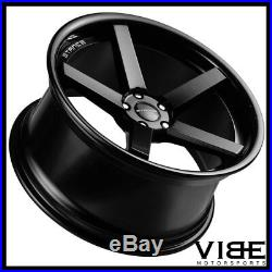 19 Stance Sc5 Matte Black 19x9.5 Concave Wheels Rims Fits Audi B8 A4 S4