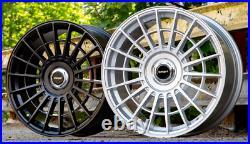 19 Stuttgart SF10 Alloy Wheels Matt Black 5x120 fits VW Transporter T5 T6