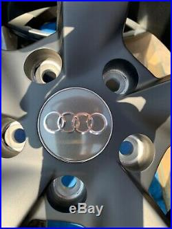 19 TTRS Rotor Arm Style Alloy Wheels Only Matt Black/Polished to fit Audi TT