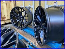 19 Xt1 Alloy Wheels Bmw 4 5 6 3 Series Alloy M Performance Sport Black F30 763m