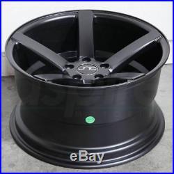 19x9.5/19x10.5 JNC 026 JNC026 5x120 40/25 Matte Black Wheel Rims set(4)