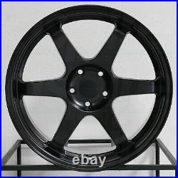 19x9.5/19x10.5 Vordoven Forme 10 5x114.3 22/22 Matte Black Wheels Rims Set(4) 73