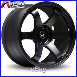 1 Rota Grid 17x9 5x114.3 +42 73.1 Flat Black Rim Wheel
